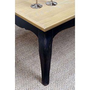 Table basse rectangulaire en pin - Manoir - Visuel n°5