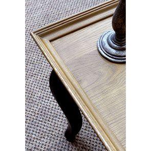 Table basse rectangulaire en pin - Manoir - Visuel n°4