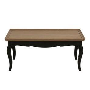 Table basse rectangulaire en pin - Manoir