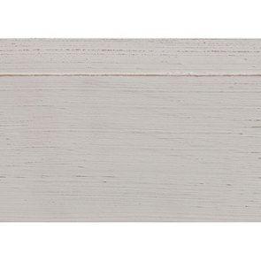 Chaise blanche en hévéa massif et tissu - Manoir - Visuel n°2