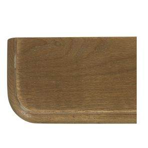 Lit 2 places 160x200 cm en bois blanc vieilli - Manoir - Visuel n°7