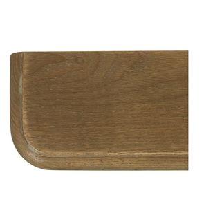 Lit 2 places 180x200 cm en bois blanc vieilli - Manoir - Visuel n°7