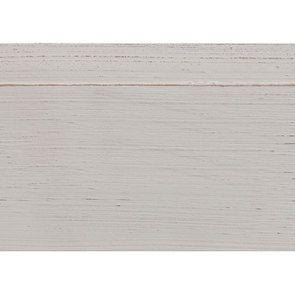 Lit 2 places 180x200 cm en bois blanc vieilli - Manoir - Visuel n°10