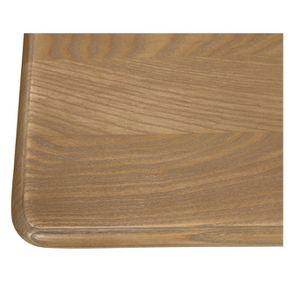 Table drapier 2 tiroirs en pin blanc vieilli - Manoir - Visuel n°8