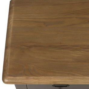 Buffet taupe 18 tiroirs en pin massif - Manoir - Visuel n°9