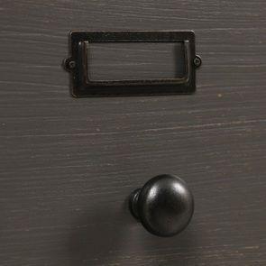Buffet taupe 18 tiroirs en pin massif - Manoir - Visuel n°12