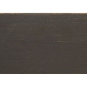 Table de chevet 2 tiroirs taupe en pin massif - Manoir - Visuel n°11