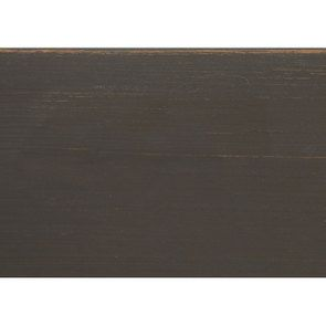 Lit pour literie 160x200 cm en pin massif taupe - Manoir - Visuel n°10