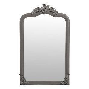 Miroir taupe en pin massif - Manoir - Visuel n°8