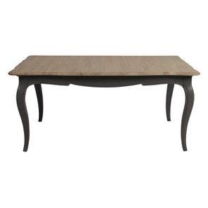 Table extensible taupe en pin 12 à 14 personnes - Manoir - Visuel n°2