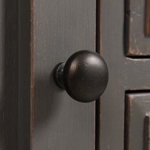 Console sauteuse taupe 4 tiroirs et 2 portes - Manoir - Visuel n°9