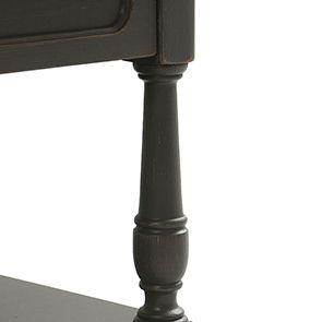 Table basse carrée taupe en pin - Manoir - Visuel n°5