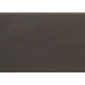 Table drapier 2 tiroirs en pin taupe - Manoir - Visuel n°9