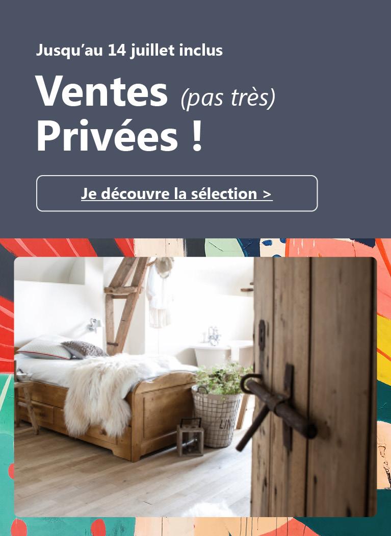 Ventes (pas très) privées