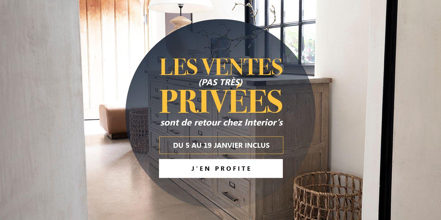 Ventes privées 21 slide