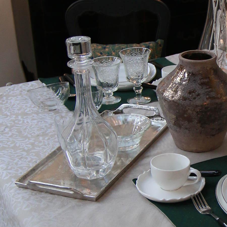 Coupelles en verre transparent (lot de 6)