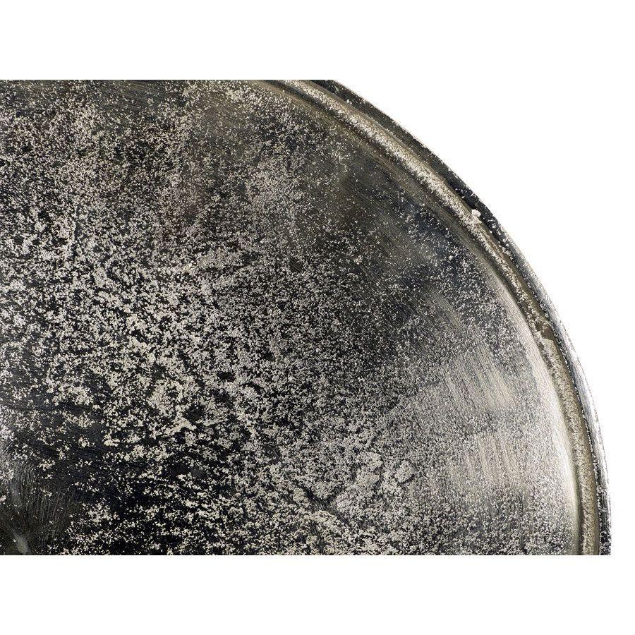 Guéridon en métal chromé - Factory