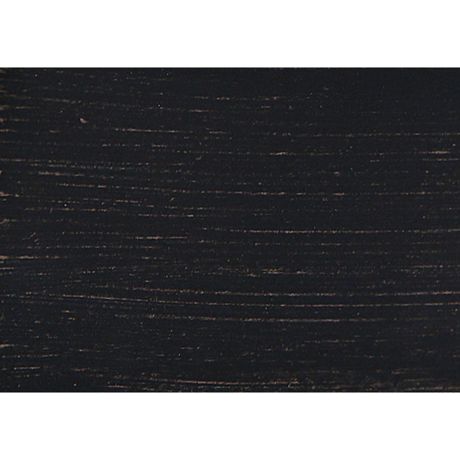 Armoire penderie noire en pin massif - Manoir