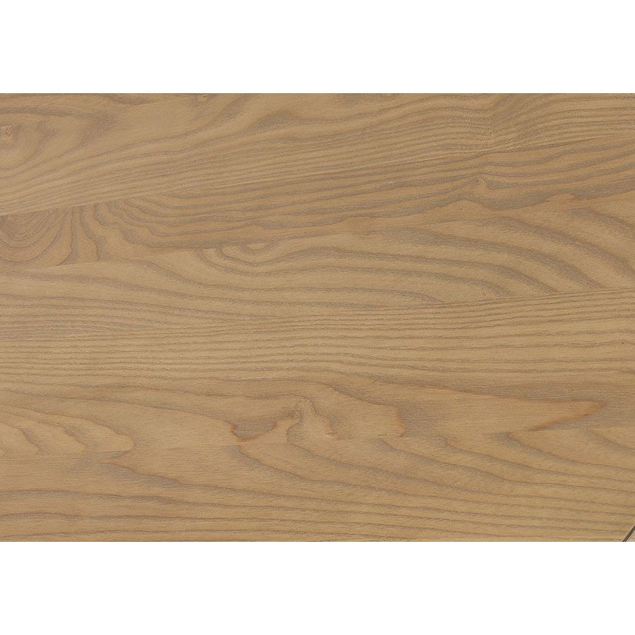 Lit pour literie 140x190 cm en pin massif noir - Manoir