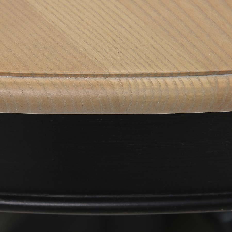 Table ronde extensible en pin 6 à 10 personnes - Manoir