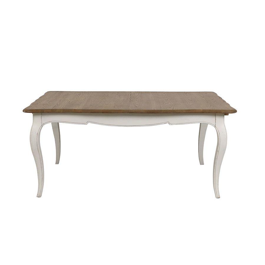 Table extensible en pin 7 à 7 personnes - Manoir