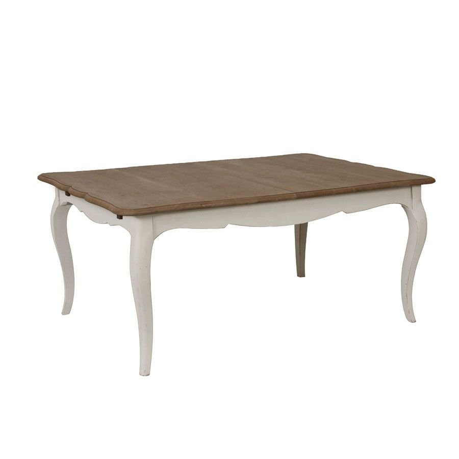Table extensible en pin 12 à 14 personnes - Manoir